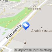 Kartta Kiinteistö Oy Hämeentie 135 Helsinki, Suomi