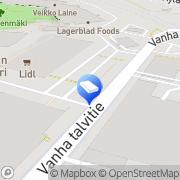 Kartta Decopot Helsinki, Suomi