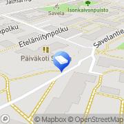 Kartta Helsingin kaupunki päiväkoti Savela Helsinki, Suomi