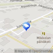 Kartta Tuusulan kunta Mikkolan päiväkoti Tuusula, Suomi