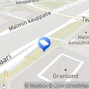 Kartta Insinööritoimisto Granlund Olof Oy Helsinki, Suomi