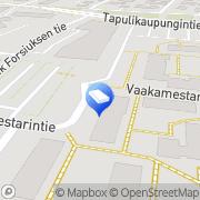 Kartta Henno-Invest Ltd Helsinki, Suomi