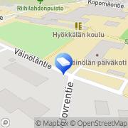 Kartta Hyrylän päiväkoti Tuusula, Suomi