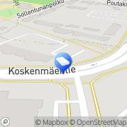 Kartta Mirkun Moppi Tmi Tuusula, Suomi