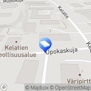 Kartta AHJ-muutto- ja kuljetuspalvelu Oy Vantaa, Suomi