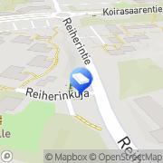Kartta iDolphin Partnership Helsinki, Suomi