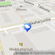 Kartta Vantaan kaupunki Hiekkaharjun päiväkoti Vantaa, Suomi