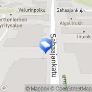 Kartta Trans Salama Helsinki, Suomi