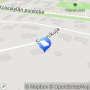 Kartta MBG-Kuljetus Ay Vantaa, Suomi