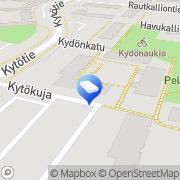 Kartta Vantaan kaupunki Kytötien päiväkoti Vantaa, Suomi