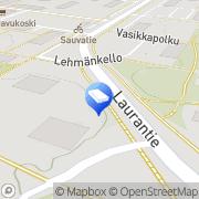 Kartta Vantaan kaupunki Havukallion päiväkoti Vantaa, Suomi