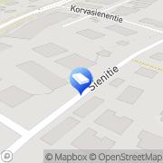Kartta Sienitien Teollisuustalo Oy Helsinki, Suomi