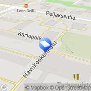 Kartta VN-Sähkö Tmi Vantaa, Suomi
