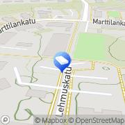 Kartta Keravan kaupunki Marttilan päiväkoti Kerava, Suomi