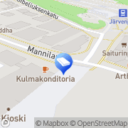 Kartta Nettitakomo Oy Järvenpää, Suomi
