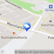 Kartta OP-Kiinteistökeskus Uusimaa Oy Järvenpää, Suomi