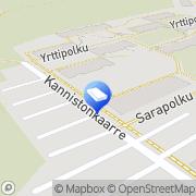 Kartta Kanniston Huolto Oy Kerava, Suomi
