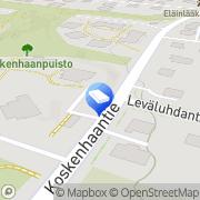 Kartta Siivouspalvelu Hänninen E. Helsinki, Suomi