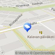 Kartta Keravan kaupunki Kalevan päiväkoti Kerava, Suomi