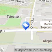Kartta Keravan kaupunki Kanniston päiväkoti Kerava, Suomi