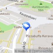 Kartta Kiinteistömaailma Asuntokerava Oy LKV Kerava, Suomi