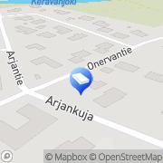 Kartta JP-Paloturvallisuus Oy Vantaa, Suomi