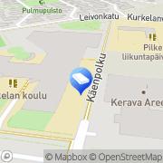 Kartta Keravan kaupunki Kurkelan päiväkoti Kerava, Suomi