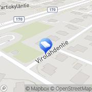 Kartta Arkkitehtipalvelu Perttuli-Hietaniemi Ay Helsinki, Suomi
