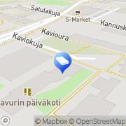 Kartta Vantaan kaupunki Ravurin päiväkoti Vantaa, Suomi
