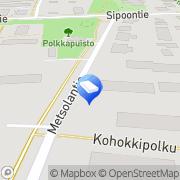 Kartta Toimistopalvelu Anntext Tmi Järvenpää, Suomi