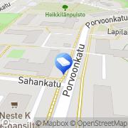 Kartta ATK-Tietofix Kerava, Suomi
