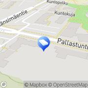 Kartta Asunto Oy Pallastunturintie 1 Vantaa, Suomi