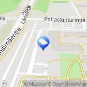 Kartta Vantaan kaupunki Kuntopuiston päiväkoti Vantaa, Suomi