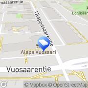 Kartta Asianajotoimisto Sandström &  Koulu Oy Helsinki, Suomi