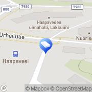 Kartta Mainostoimisto Design HL Haapavesi, Suomi