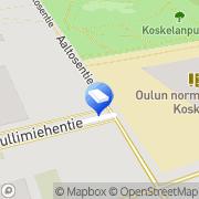 Kartta Siivouspalvelu Puhtaax Oulu, Suomi