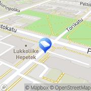 Kartta Sähköpalvelu Sakari Tähtilä Ky Oulu, Suomi