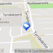 Kartta MSP Messu- ja Somistuspalvelu Oy Oulu, Suomi