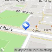 Kartta Oulun Insinööritoimisto OIT Ay Oulu, Suomi