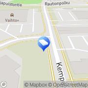 Kartta Tilitoimisto Oulun HPS-tilit Oulu, Suomi