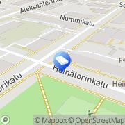 Kartta Isännöintipalvelu H Maunu Ky Oulu, Suomi