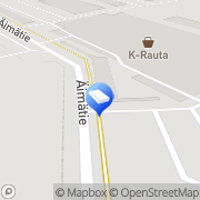 Kartta K-rauta Äimärautio Oulu Oulu, Suomi