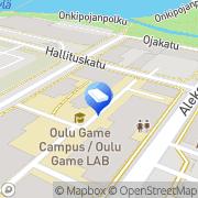 Kartta Fondia Oyj Oulu, Suomi