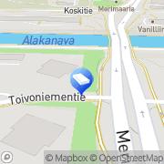 Kartta Oulun Kiinteistökunnostus Ay Oulu, Suomi