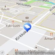 Kartta Mainonnan Työmaa Oulu, Suomi