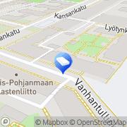 Kartta NCC Rakennus Oy Oulu, Suomi
