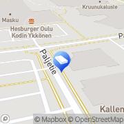 Kartta Villeriina Vekarat Oy Oulu, Suomi