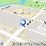 Kartta LVI-Insinööritoimisto LVI-Naamanka Oy Oulu, Suomi