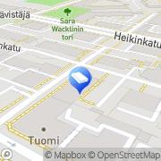 Kartta Isännöinti Asuntomarkkinat Kolehmainen Oy Oulu, Suomi