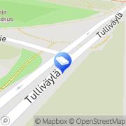 Kartta SAV Oy Pohjois-Suomi Oulu, Suomi